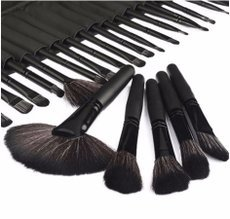 Woman′s Professional 32 Pcs Make Up Tools Pincel Maquiagem Superior Soft Cosmetic Beauty Makeup Brushes Set Kit   Pouch Bag Case