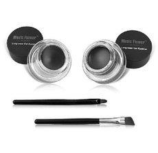 2 in 1 brown   black gel eyeliner make up free shipping waterproof freeshipping cosmetics set eye liner makeup eye